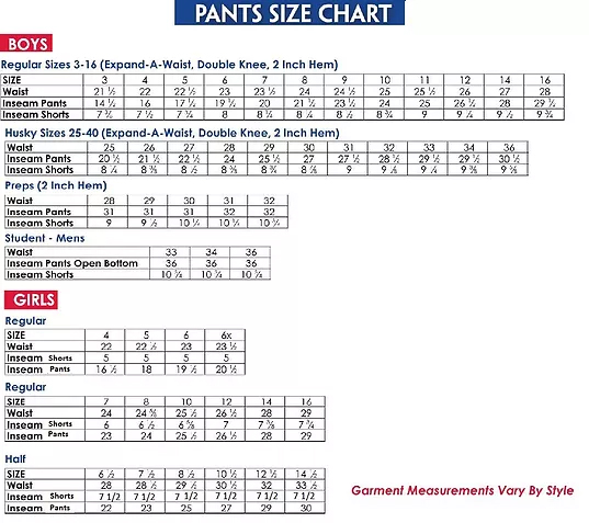 Boy jean size chart carnaval jmsmusic co
